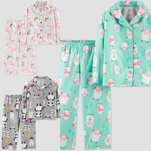 Just One Made by Carters 3 Pajama Sets 5T Girls